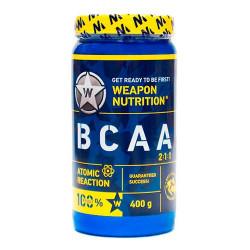 Weapon Nutrition BCAA 2:1:1 Atomic Reaction 400 г лесные ягоды