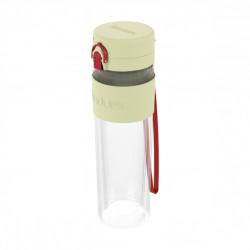 Бутылка для воды с двойными стенками Bodum Bistro, 500 мл, фисташковая