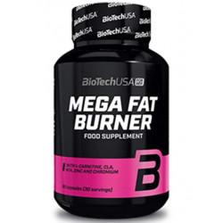 Жиросжигатель BioTech Mega Fat Burner, 90 таблеток