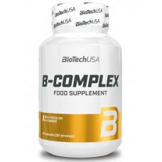 Комплекс витамина В, BioTech B-Complex 75 Complete, 60 таблеток