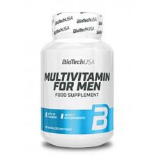Мультивитамины для мужчин, BioTech Multivitamin for men, 60 таблеток