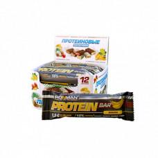 Батончик Ironman Protein Bar 12 50 г, 12 шт., банан
