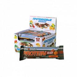 Батончик Ironman Protein Bar 12 50 г, 12 шт., карамель