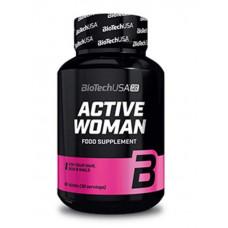 Витаминно-минеральный комплекс BioTech Active Woman, 60 таблеток
