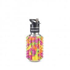 Бутылка Mobot Firecracker 500 мл розовая/желтая/зеленая