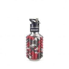 Бутылка Mobot Firecracker 500 мл красная/серая/хаки