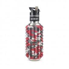 Бутылка Mobot Grace 800 мл красная/серая/хаки