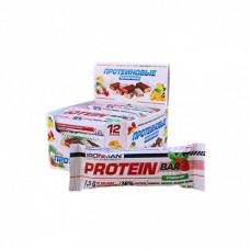 Батончик Ironman Protein Bar 12 50 г, 12 шт., клубника