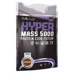 Гейнер BioTech Hyper Mass 5000 - лесной орех, 1000 г
