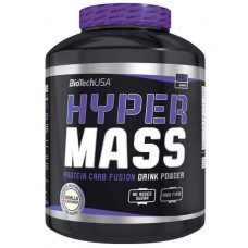 Гейнер BioTech Hyper Mass 5000 - ваниль, 4000г