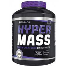 Гейнер BioTech Hyper Mass 5000 - клубника, 4000г