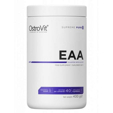 Аминокислотный комплекс Ostrovit Pure EAA - клубника, 400г