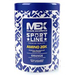Аминокислотный комплекс MEX Amino 20K - апельсин, 500г