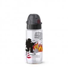 Бутылка Emsa Drink2Go Пожарный 518305 500 мл черная
