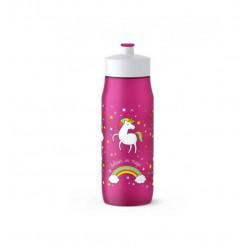 Бутылка Tefal Squeeze Unicorn K3201212 600 мл розовая