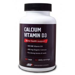 Кальций + витамин D3 Protein.Company120 капсул