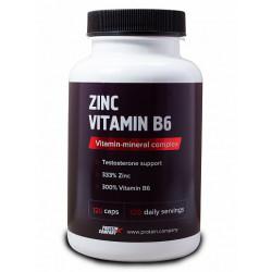 Комплекс Цинк + B6 Protein.Company 120 капсул