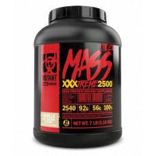 """Гейнер MUTANT Mass XXXtreme 2500 """"Ванильное мороженое"""" - 3.2 кг"""