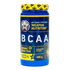 Weapon Nutrition BCAA 2:1:1 Atomic Reaction 400 г без вкуса