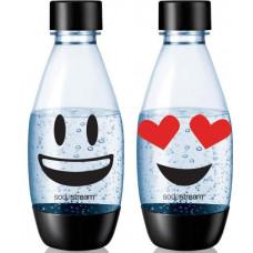 Комплект бутылок Sodastream Fuse Emoji - Clear