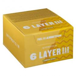 Батончик MyProtein 6 Layer Bar 12 70 г, 12 шт., лимонная меренга
