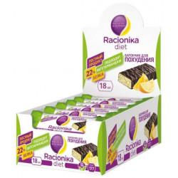 Батончик Racionika Diet 18 50 г, 18 шт., апельсин