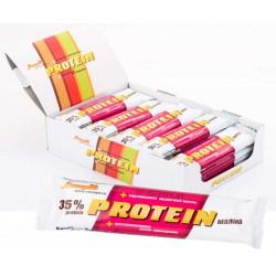 Батончик Виталад Protein 24 40 г, 24 шт., с малиной