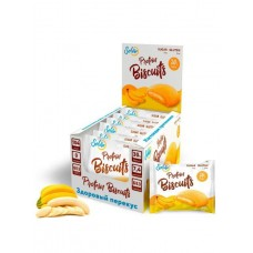 Батончик Solvie Protein Biscuits 6 40 г, 6 шт., банан