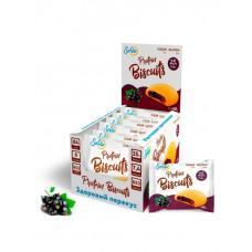 Батончик Solvie Protein Biscuits 6 40 г, 6 шт., смородина