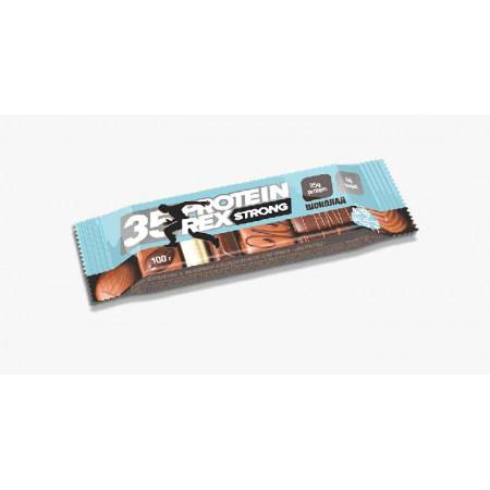 Батончик ProteinRex Strong 35% 5 100 г, 5 шт., шоколад