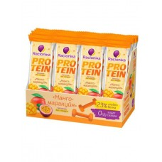 Батончик Racionika Protein 24 45 г, 24 шт., манго/маракуйя