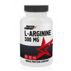 L-аргинин Protein.Company L-Arginine 500 mg 90 капсул