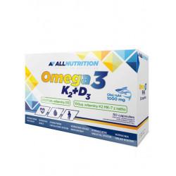 ALLNUTRITION Omega-3 vitamin K2+D3, 30 капсул