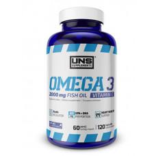 UNS Omega-3, 120 капсул