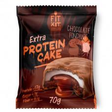 Печенье Fit Kit Extra Protein Cake 24 70 г, 24 шт., chocolate fondant