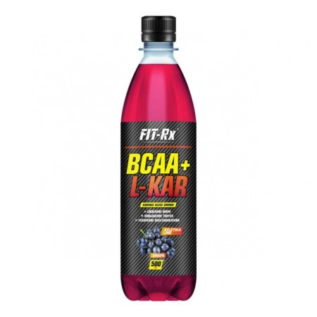 Напиток с BCAA и L-карнитином FIT-Rx Bcaa + L-kar 500 мл, виноград