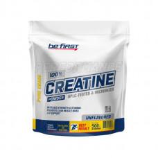 Креатин Be First Micronized CREATINE monohydrate powder, пакет 300г