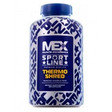 Жиросжигатель MEX Thermo Shred, 180 капсул