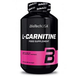 Напиток с L-карнитином BioTech L-Carnitine 1000 30 таблеток, натуральный