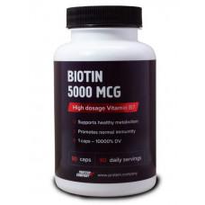 Биотин Protein.Company Biotin 5000 mcg 90 капсул