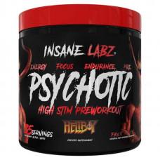 Предтренировочный комплекс Insane Labz Psychotic Hellboy Edition 250 г fruit punch