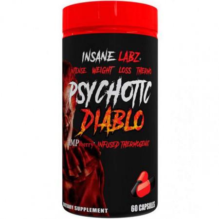 Жиросжигатель INSANE LABZ Psychotic Diablo - 60 капсул