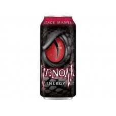 Энергетик Venom Blek 473 мл, черная мамба