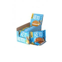 Печенье Bombbar Keto Cookie 12 40 г, 12 шт., шоколад/миндаль