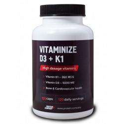 Витаминный комплекс Protein.Company Vitaminize K1 + D3 120 капсул