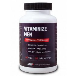 Мультивитамины Protein.Company Vitaminize Men 120 капсул