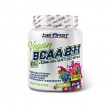 Be First BCAA 2:1:1 Vegan Instantized Powder 200 г цитрусовый микс