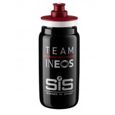 SiS Фляга пластиковая Team Ineos Fly Bottle, 550мл - черная