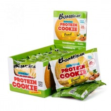 Печенье Bombbar Cookies 10 60 г, 10 шт., арахис