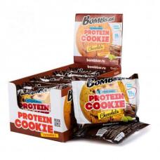 Печенье Bombbar Cookies 10 60 г, 10 шт., шоколад